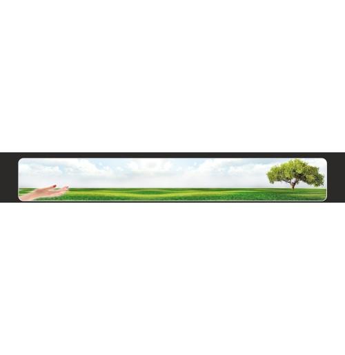 Kamyon Arkası Çimen Resimli (Fon5) Tampon Boy Paçalık Tozluk