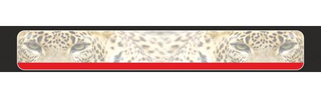 Kamyon Arkası Leopar Göz Resimli (Fon7) Tampon Boy Paçalık Tozluk