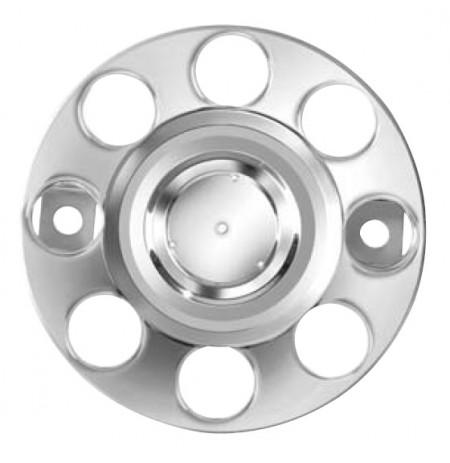 """19.5"""" Metal Çember Jant Kapağı (Nikel Kaplama)"""
