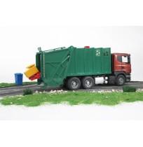 Scania R-Serisi Çöp Kamyonu (Yeşil)