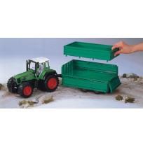 Fendet Favorit 926 Traktör & Yeşil Büyük Römork