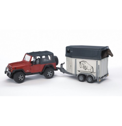 Jeep Wrangler Ve At Nakil Aracı