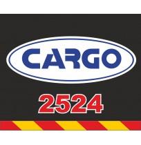 50X60 cm Cargo Baskılı Reflektörlü Paçalık(Sarı-Kırmızı)