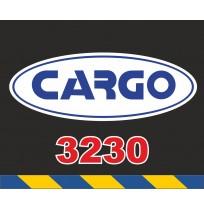 50X60 cm Cargo Baskılı Reflektörlü Paçalık(Sarı-Lacivert)