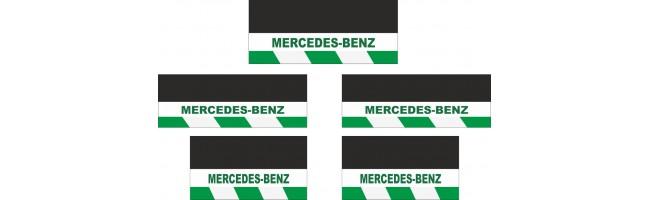 Mercedes-Benz 5li Otobüs Reflektörlü Paçalık Modelleri (Yeşil-Beyaz)