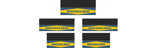 Mercedes-Benz 5li Otobüs Reflektörlü Paçalık Modelleri (Sarı-Lacivert)