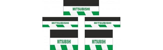 MITSUBISHI 5li Otobüs Reflektörlü Paçalık Modelleri (Yeşil-Beyaz)