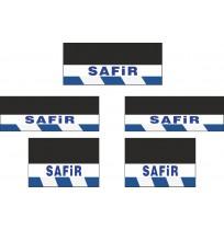 Safir 5li Otobüs Grubu Reflektörlü Paçalık Modelleri (Lacivert-Beyaz)
