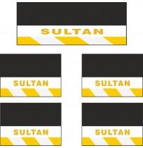 Sultan 5li Midibüs Grubu Reflektörlü Paçalık Modelleri (Sarı-Beyaz)