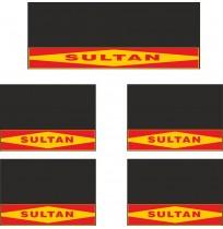 Sultan 5li Midibüs Grubu Reflektörlü Paçalık Modelleri (Sarı-Kırmızı)