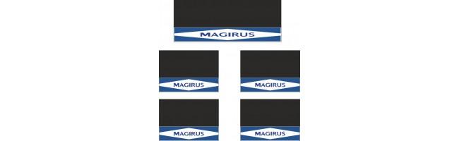 Magırus 5li Midibüs Grubu Reflektörlü Paçalık Modelleri (Lacivert-Beyaz)