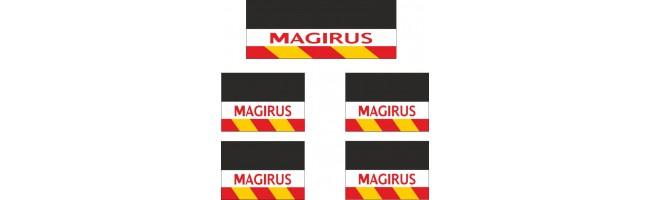 Magırus 5li Midibüs Grubu Reflektörlü Paçalık Modelleri (Sarı-Kırmızı)