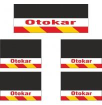 Otokar 5li Midibüs Grubu Reflektörlü Paçalık Modelleri (Sarı-Kırmızı)