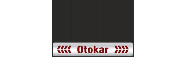 35X50 cm OTOKAR PASLANMAZ + KIRMIZI REFLEKTİFLİ PAÇALIK