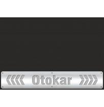 35X50 cm OTOKAR PASLANMAZ + BEYAZ REFLEKTİFLİ PAÇALIK