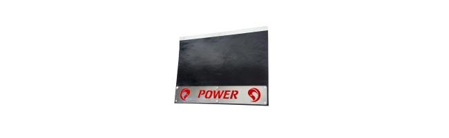 Kamyon Paçalık Power Paslanmaz Yazılı Kırmızı Reflektif Folyolu