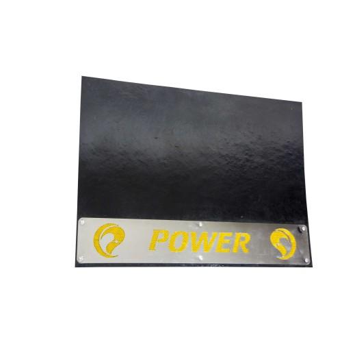 Kamyon Paçalık Power Paslanmaz Yazılı Sarı Reflektif Folyolu