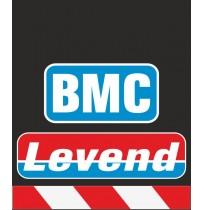 30X35 cm BMC Levend Baskılı Reflektörlü Paçalık(Kırmızı-Beyaz)