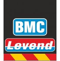 30X35 cm BMC Levend Baskılı Reflektörlü Paçalık(Sarı-Kırmızı)