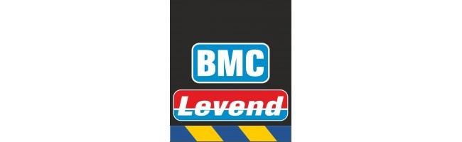 30X35 cm BMC Levend Baskılı Reflektörlü Paçalık(Sarı-Lacivert)