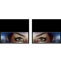50X60 cm Göz Baskılı Kamyon Paçalığı