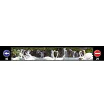 35X240 cm Kuğu Baskılı Kamyon Paçalığı