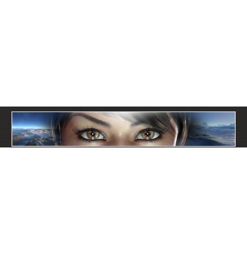 35X210 cm Göz Baskılı Kamyon Paçalığı