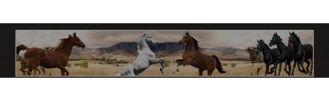 35X210 cm At Baskılı Kamyon Paçalığı