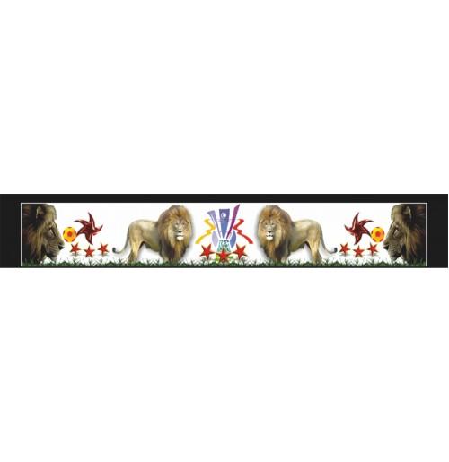 35X210 cm Aslan Baskılı Kamyon Paçalığı
