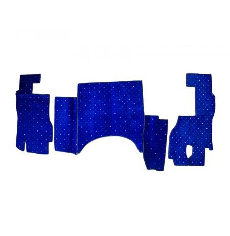 Yeni Actros 2006 Halı Paspas ( Mavi )