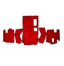 Esk Axor 2004 - 2006 Halı Paspas ( Kırmızı )