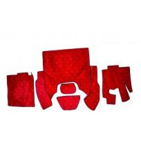 DAF 105 Carpet Set ( Kırmızı )