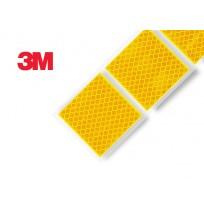 3M Yumuşak Zemin Sarı Reflektif Şerit İşaretleme ( Kesikli ) 997S Diamond Grade