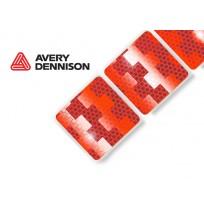 AVERY DENNISON Yumuşak Zemin Kırmızı Reflektif Şerit İşaretleme V-6750B
