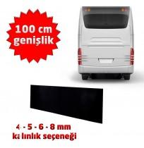 Baskısız Otobüs Arkası Karter Altı Paçalık Tozluk - 100 cm