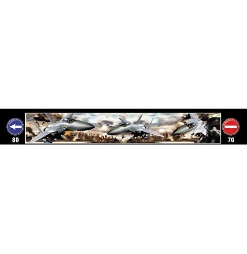 Uçak Baskılı Kamyon / TIR / Dorse Paçalık - 240 cm