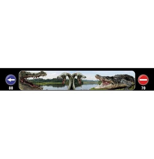 Timsah Baskılı Kamyon / TIR / Dorse Paçalık - 240 cm