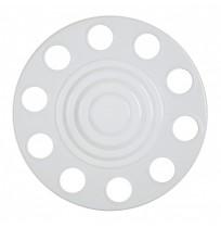 Çember Dereceli Model Beyaz Boyalı Metal Jant Kapağı 22.5 inç