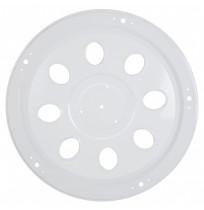 19.5 inç Delikli Model Beyaz Boyalı Metal Ön Jant Kapağı