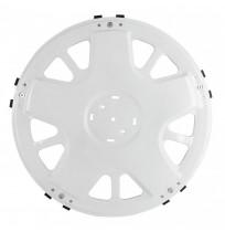 Ahtapot Model Beyaz Boyalı Metal Arka Jant Kapağı 17.5 inç
