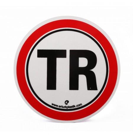 Azami Hız TR Reflektifli 11cm Yapıştırma Hız Uyarı Etiketi