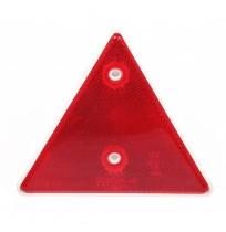 Çerçeveli Üçgen Reflektör E9 Belgeli 15,7 cm Kırmızı