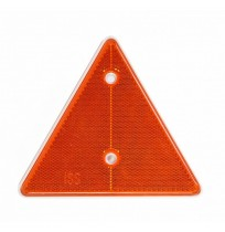 Üçgen Reflektör Sarı 15cm