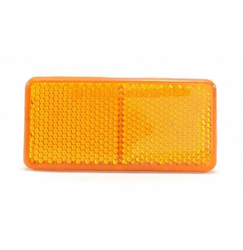 Dikdörtgen Reflektör Sarı 9cm