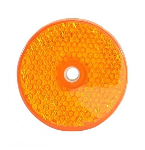 Dairesel Reflektör Sarı 6cm
