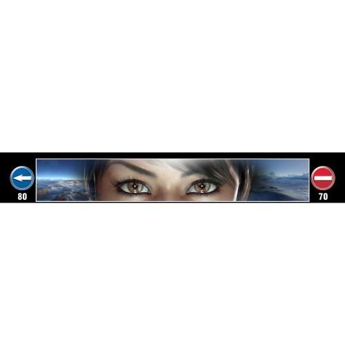 Göz Baskılı Kamyon / TIR / Dorse Paçalık - 240 cm