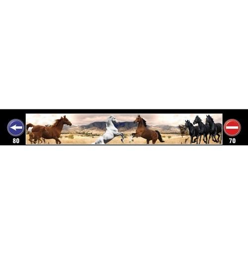 At Baskılı Kamyon / TIR / Dorse Paçalık - 240 cm