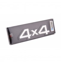4X4 Metal Arma Logosu