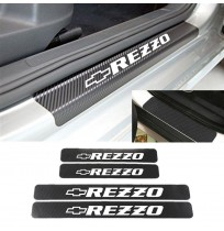 Chevrolet Rezzo Karbon Kapı Eşiği Koruma Sticker (4 Adet)