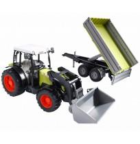 Claas Nectis 267F Traktör & Römork